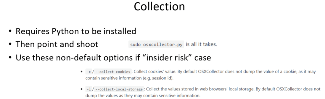 Using Mac OSXCollector with Splunk